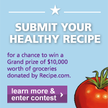 Submit Your Healthy Recipe