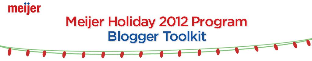 Meijer Holiday 2012 Program