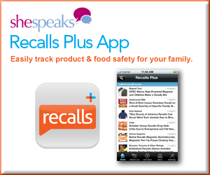 Recalls Plus Blogger Badge