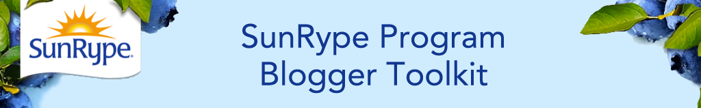 SunRype Program Blogger Toolkit