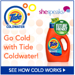 Taking the #Tide Coldwater Challenge #washcold @shespeaksup