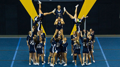 is cheerleading really a sport And that's no disrespect to the sport of cheerleading it's a really awesome sport, and it is difficult to do and amazing to watch easily one of the most dangerous sports due to when you fall there is no soft snow, no cushion.