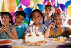 How do you think birthday parties for elementary school-aged kids should be?