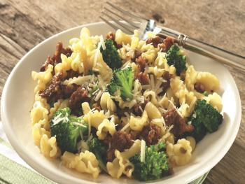 Campanelle With Broccoli & Sausage