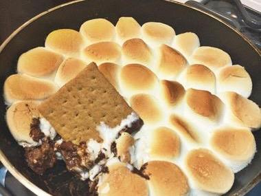 Quick & Easy S'mores Dip