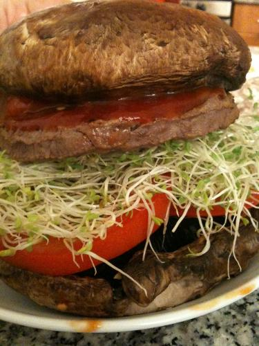A REAL Vegetable Burger