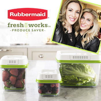 Join us for @Rubbermaid's #FreshWorksFreshness Facebook Live on 5/31 With Audrey & Vera!