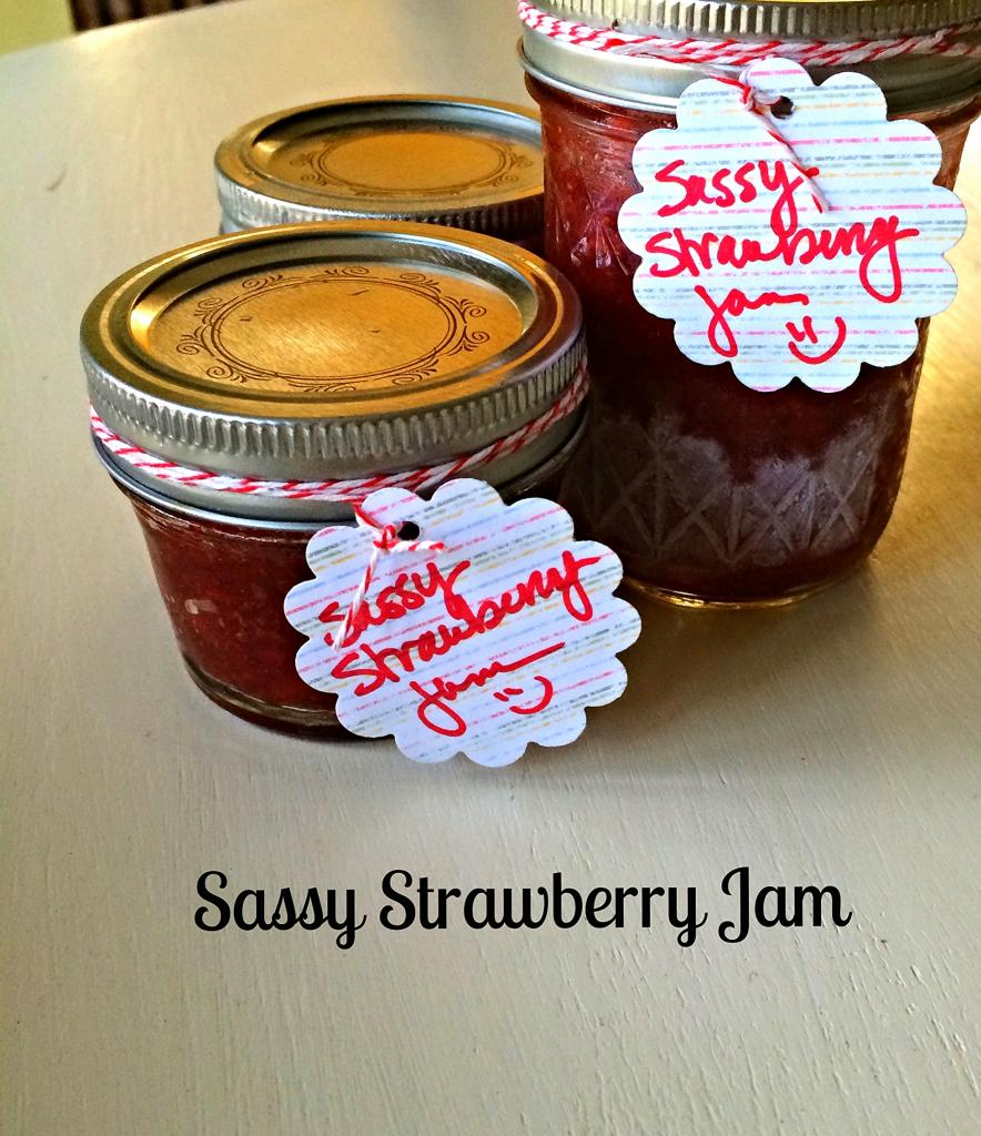Sassy Strawberry Jam