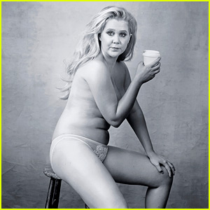 Amy Schumer Takes It All Off For Annie Leib…