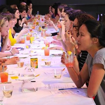 Like-Minded Moms Meet Through Tinder-Style Apps and Speed Dating Events