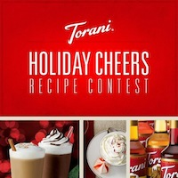 Spread Some Cheer with the Torani Holiday Cheers Recipe Contest