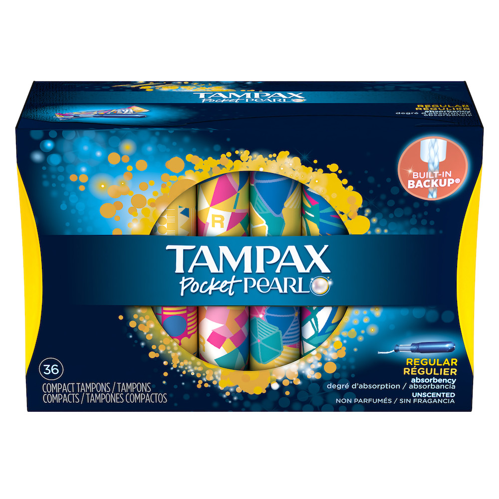 Tampax Pocket Pearl 36-Count