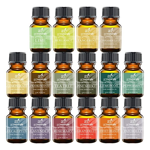 16 essential oil kit