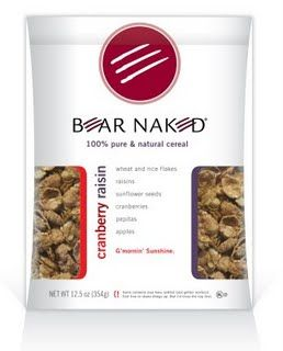 Bear Naked  Cranberry Raisin Cereal