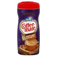 Coffee-Mate Hazelnut Biscotti Creamer