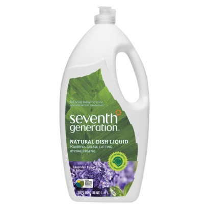 Seventh Generation Dish Liquid - Lavender Floral & Mint