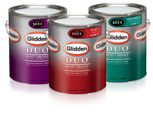 Glidden duo premium paint primer in one shespeaks - Glidden premium exterior paint review ...