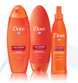 Dove Heat Defense Therapy Shampoo & Conditioner