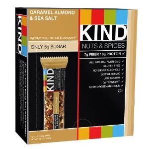 Kind Nuts & Spices snack bars