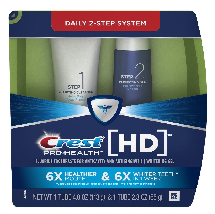 Crest Pro-Health HD Daily 2-Step System