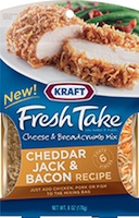 Kraft Fresh Take Cheddar Jack and Bacon