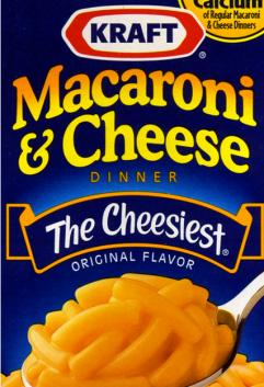 Kraft Macaroni and Chees…