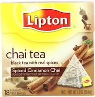 Lipton Spiced Cinnamon Chai Tea
