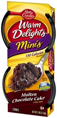 Betty Crocker Warm Delight Minis Molten Chocolate Cake