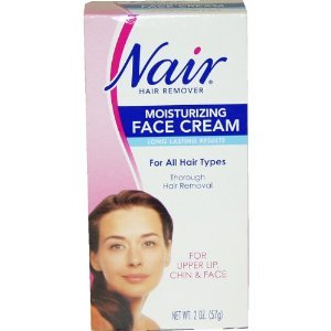 Nair Nair hair remover moisturizing face cream