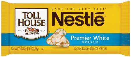 Nestle Toll House Premier White Morsels
