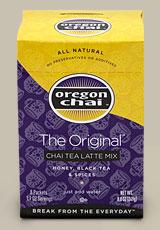 oregon chai original chai tea latte mix shespeaks. Black Bedroom Furniture Sets. Home Design Ideas