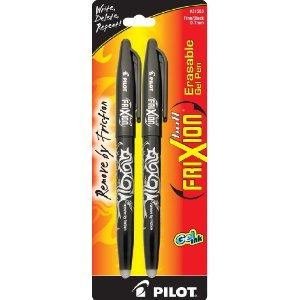 Pilot FriXion Ball Erasable Gel Ink Pens