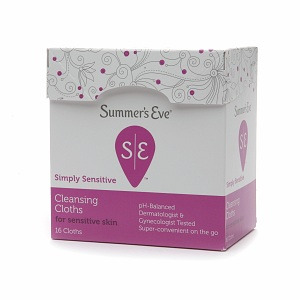 Summer's Eve Simply Soft feminine Wipes