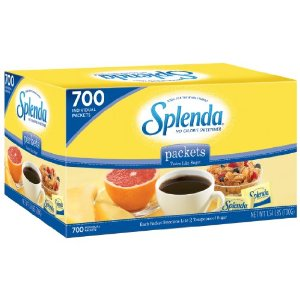 Splenda Sweetener Packets