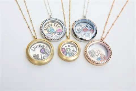 Floating Locket & Charms
