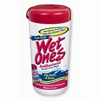 Playtex Wet Ones Fresh Scent Antibacterial Moist Wipes