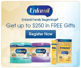 Enfamil Family Beginings: Free Baby Product Samples & More