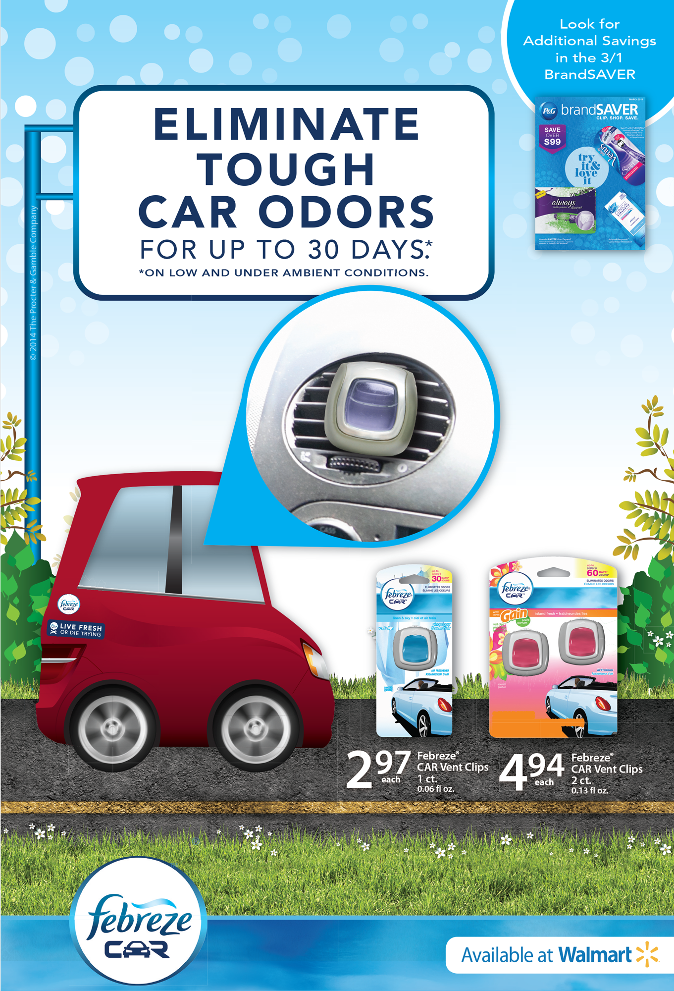 febreze car clips and 25 walmart giveaway febreze car vent clips 25 walmart gift card giveaway