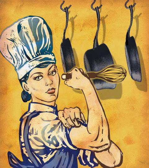 No Press For Women Chefs