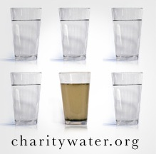 Charity Water Glasses