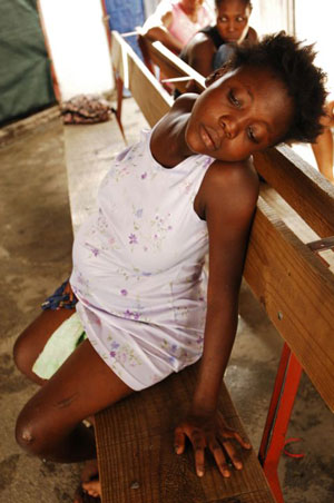 Women And Children Of Haiti Face Even Greater Challenges