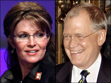 Palin Accepts Letterman's Latest Apology