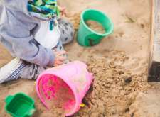 When a child brings a toy to a playground, is it ok for them to keep the toy to themselves or should they share the toy?