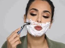 Some beauty experts say women should shave their face since it acts as an exfoliant. Would you shave your face?