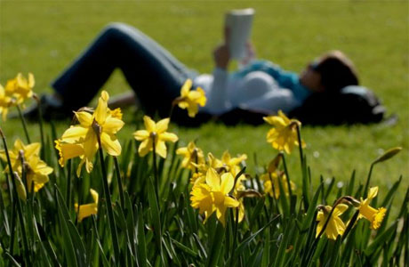 As the weather gets warmer, which of the following mark the beginning of spring for you?