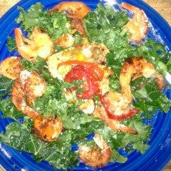 Spicy Habanero Jumbo Shrimp with Spicy Garl…