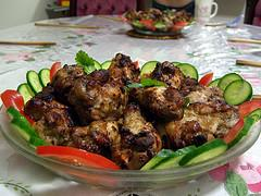 Grilled Spiced Chicken Wings