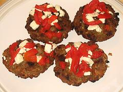 italian meatloaf patties in zesty tomato gr…