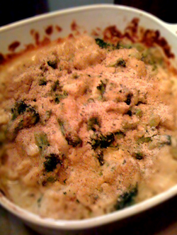 Broccoli Cauliflower Cheese Casserole