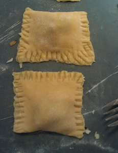 Homemade Ravioli, no pasta maker needed